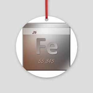 Iron (Fe) Round Ornament