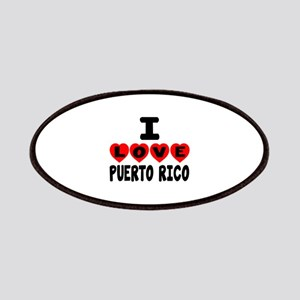 I Love Puerto Rica Patch