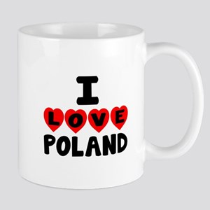 I Love Poland Mug