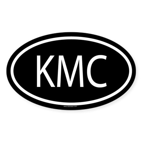 KMC Oval Sticker
