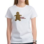 Happy Holidays Gingerbread Women's T-Shirt
