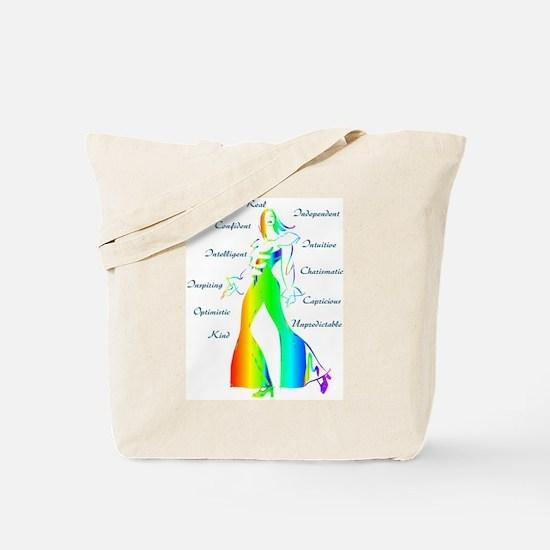 Essence of Woman - Rainbow Tote Bag
