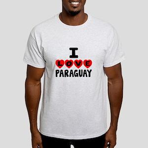 I Love Paraguay Light T-Shirt