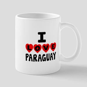 I Love Paraguay Mug