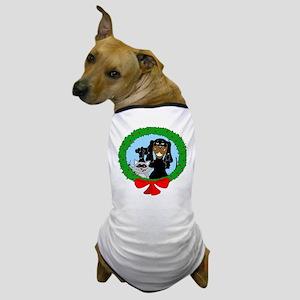 Black and Tan Coonhound Christmas Dog T-Shirt