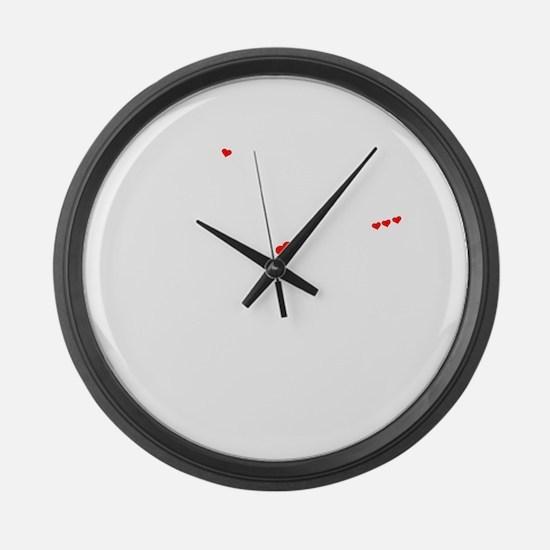 Unique Emanuel Large Wall Clock