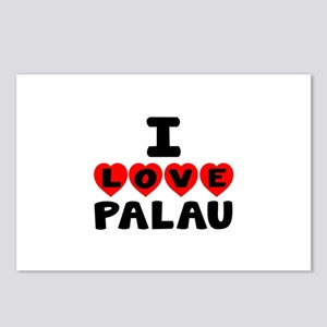 I Love Palau Postcards (Package of 8)
