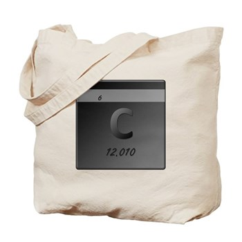 Carbon (C) Tote Bag