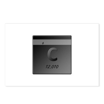 Carbon (C) Postcards (Package of 8)