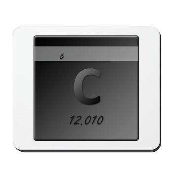 Carbon (C) Mousepad