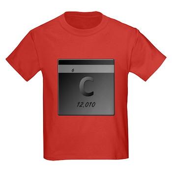 Carbon (C) Kids Dark T-Shirt