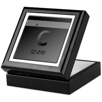 Carbon (C) Keepsake Box