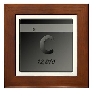 Carbon (C) Framed Tile