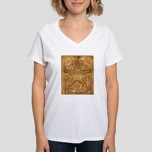 Women's Army V-Neck T-Shirt, Camp Victory, IRAQ.