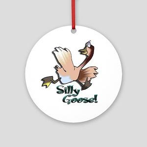 Silly Goose Keepsake (Round)
