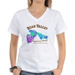 Bear Valley Women's V-Neck T-Shirt