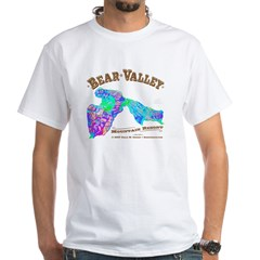 Bear Valley White T-Shirt