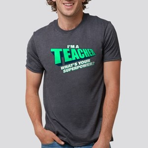 I'm a Teacher Mens Tri-blend T-Shirt
