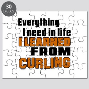 Everything I Learned From Curling Puzzle