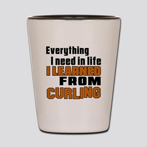 Everything I Learned From Curling Shot Glass