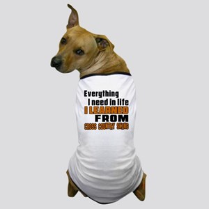 Everything I Learned From Cross Countr Dog T-Shirt