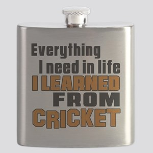 Everything I Learned From Cricket Flask