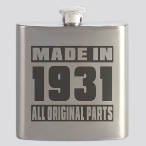 Made In 1931 Flask