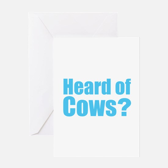Cows Greeting Cards
