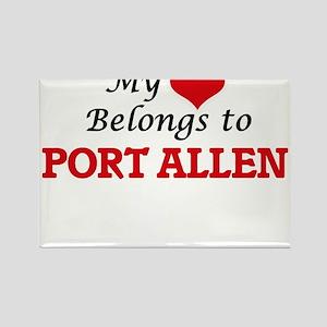 My Heart Belongs to Port Allen Hawaii Magnets