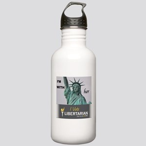 I'm with Lady Liberty, I vote LP Water Bottle