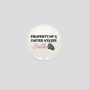 Property of a US Soldier Mini Button