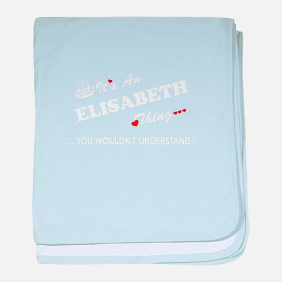 Cute Elisabeth baby blanket