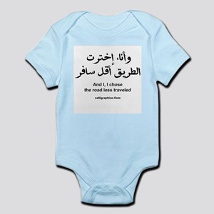 I Chose The Road Less Traveled Infant Bodysuit