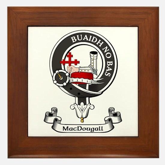Badge - MacDougall Framed Tile