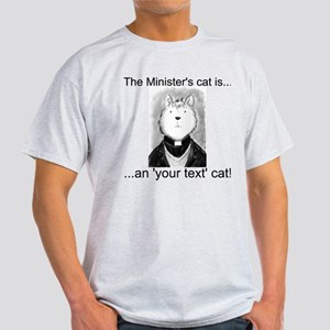Personalised The Minister's Cat T-Shirt