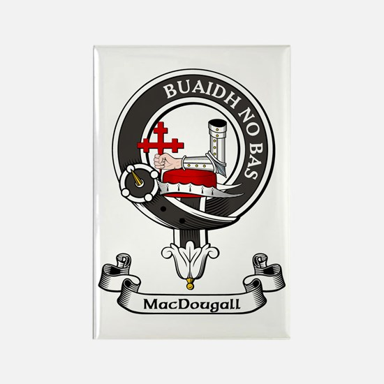 Badge - MacDougall Rectangle Magnet