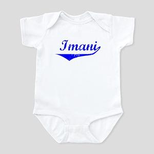 Imani Vintage (Blue) Infant Bodysuit