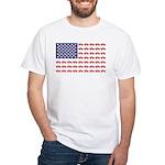 4 Wheeler in an American Fl Men's Classic T-Shirts