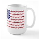 4 Wheeler in an American 15 oz Ceramic Large Mug
