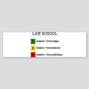 law student futures Bumper Sticker