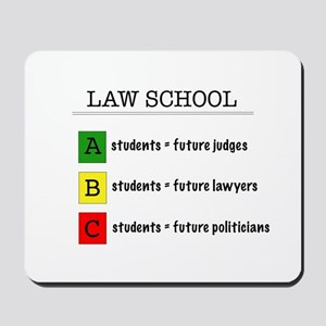 law student futures Mousepad