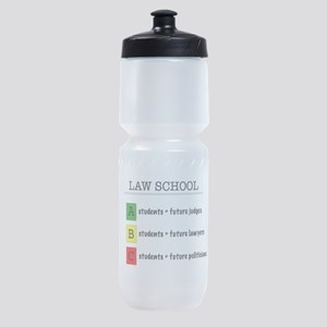 law student futures Sports Bottle