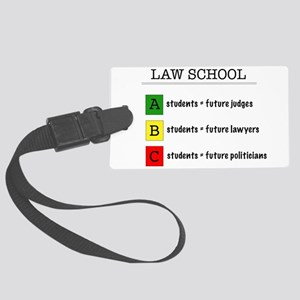 law student futures Large Luggage Tag