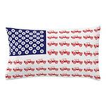4 Wheeler in an American Flag Pillow Case
