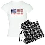 4 Wheeler in an American Fl Women's Light Pajamas