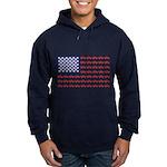 4 Wheeler in an American Flag Hoodie (dark)