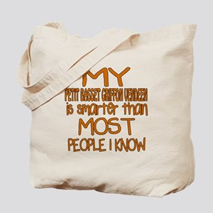 My Petit Basset Griffon Vendeen is smarte Tote Bag