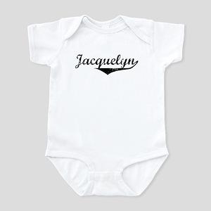 Jacquelyn Vintage (Black) Infant Bodysuit