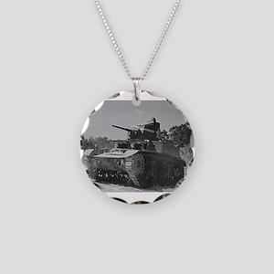 M3 STUART Necklace Circle Charm