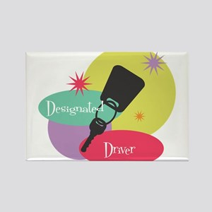 Designated Driver 2 Rectangle Magnet